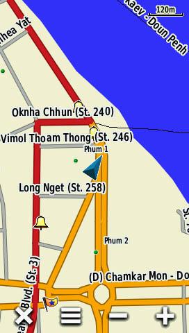 Detailed View, Phnom Penh