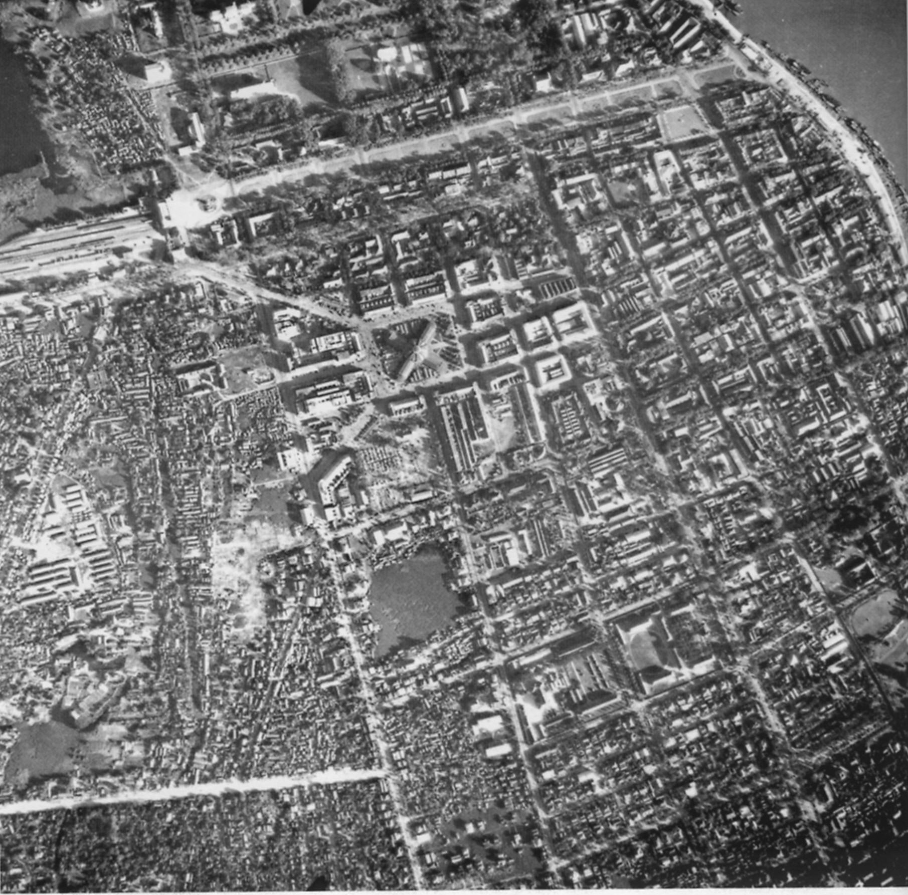 Historical Maps Of Phnom Penh City Of Water - Historical aerial maps