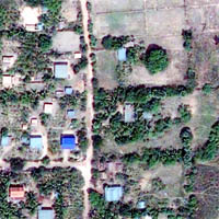 GeoEye-1 Image, Banteay Chhmar, Cambodia. Click to download.