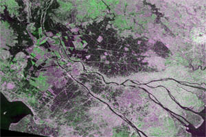 The first Sentinel-1 image over Cambodia. Covers parts of Takeo, Prey Veng and Svay Rieng. 1.1 Gb.