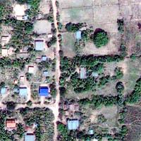 GeoEye-1 Image, Banteay Chhmar, Cambodia